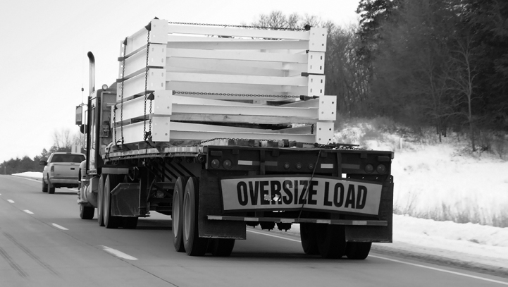 Overloaded Trucks & Falling Debris