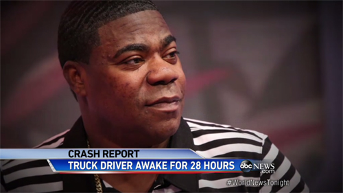 Truck Driver Fatigue Cited as Cause of Crash That Injured Comedian